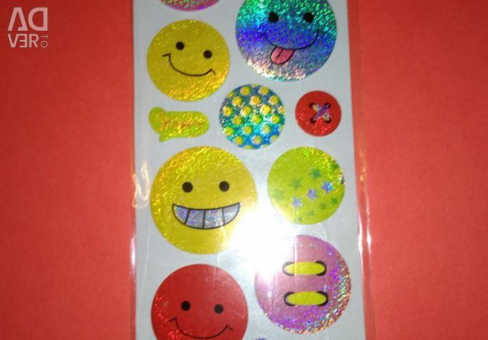 Volume stickers