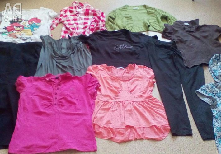A lot of clothes Ostin for 2 kg of apples