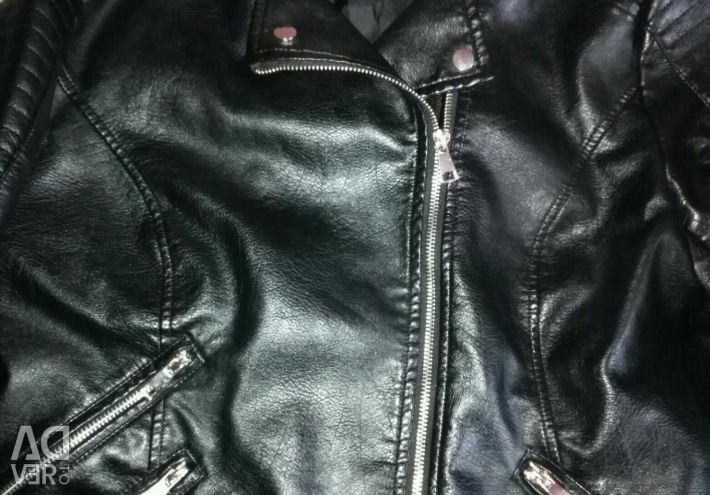 Leather jacket fashion jacket