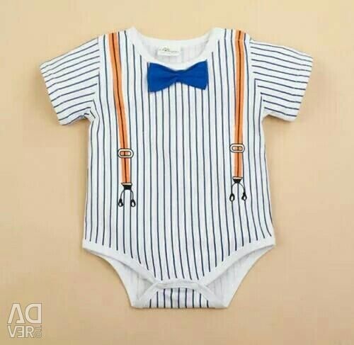 Body with butterfly from 6 to 12 months