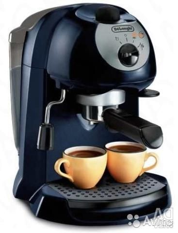 Delonghi EC 190 Rozhkovaya coffee machine, used 2 times