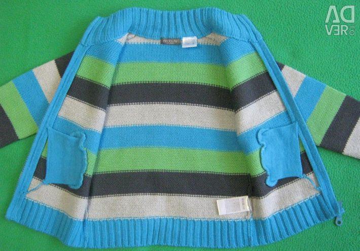 Cardigan children's sweater cardigan 92 - 98 all season