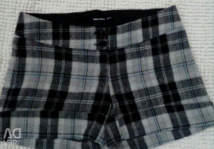 Shorts warm wool