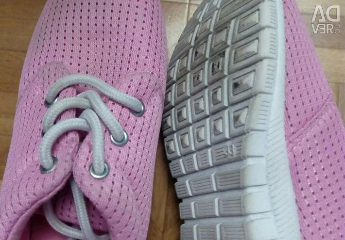 Sneakers for the girl
