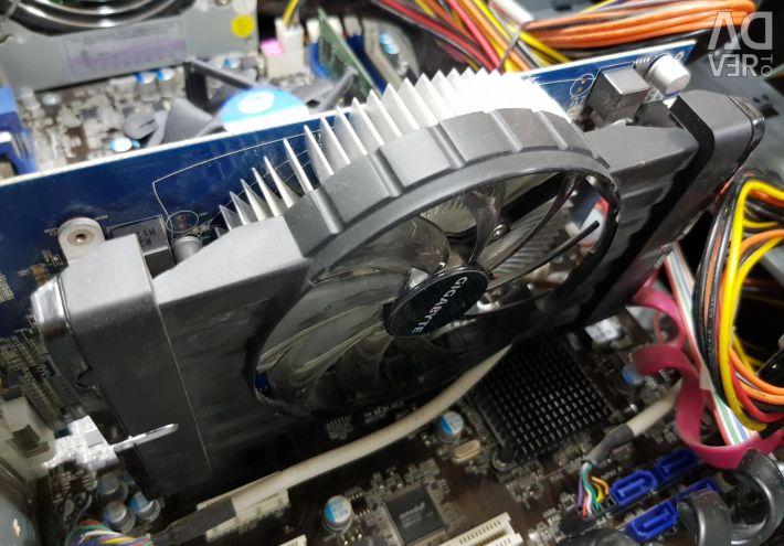 Intel Pentium G620 (2 cores), HD6750-1Gb, 4Gb, 500G
