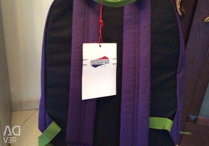 Backpack AMERICAN TOURISTER (SAMSONITE) new