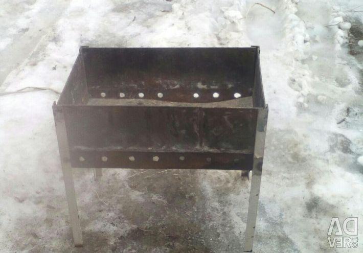 Homemade barbecue.