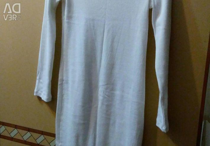 Elbise beyaz, hamile, yeni mümkün