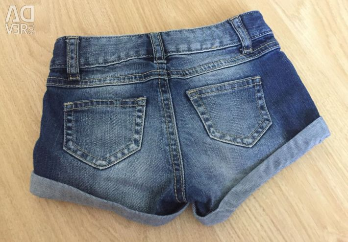 Jeans shorts p.2-3 years