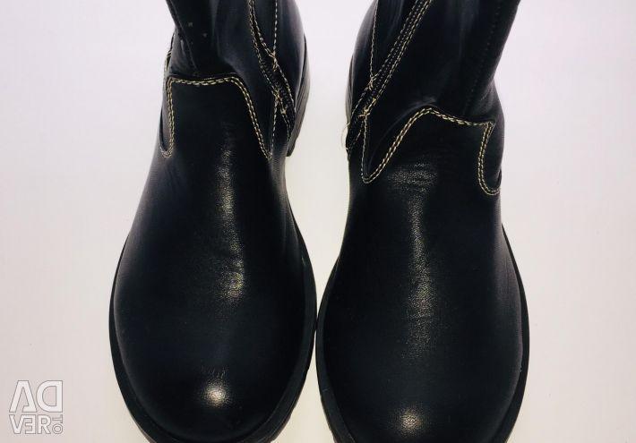 New boots demi r. 34