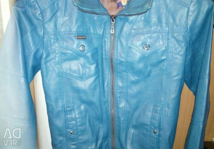 Jacket deputy leather for women