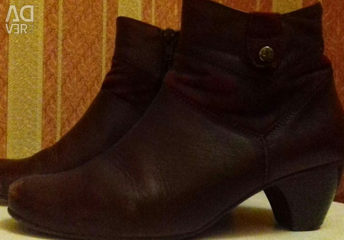 Half boots leather Spain