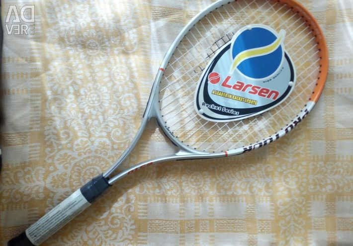 New racket for tennis