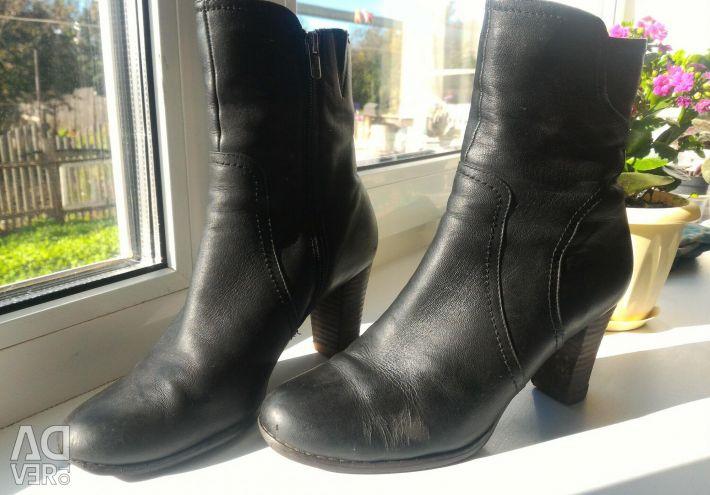 Autumn boots nat leather