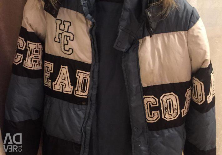 Χειμερινό σακάκι με διπλή επένδυση
