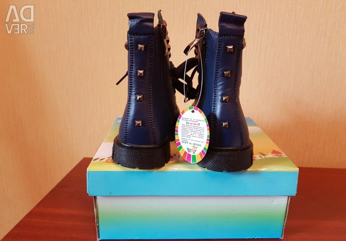 New The warmed boots 25 size