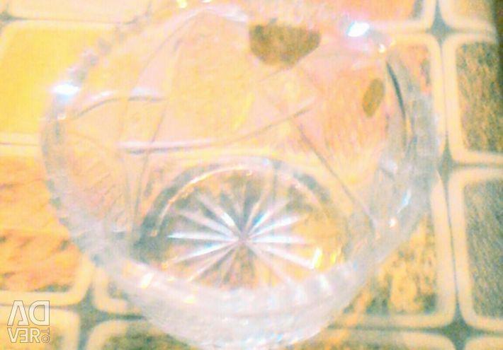 Κύπελλο σαλάτας με κρύσταλλο