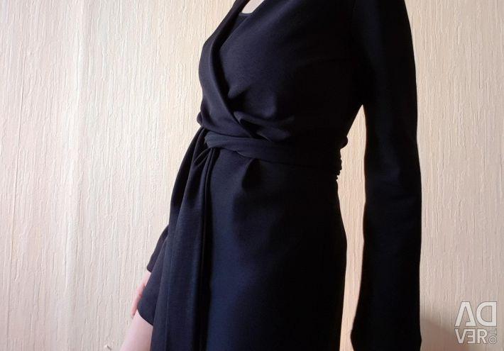 Bershka wrap suit