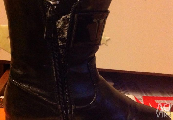 Half boots demi-season 34 size