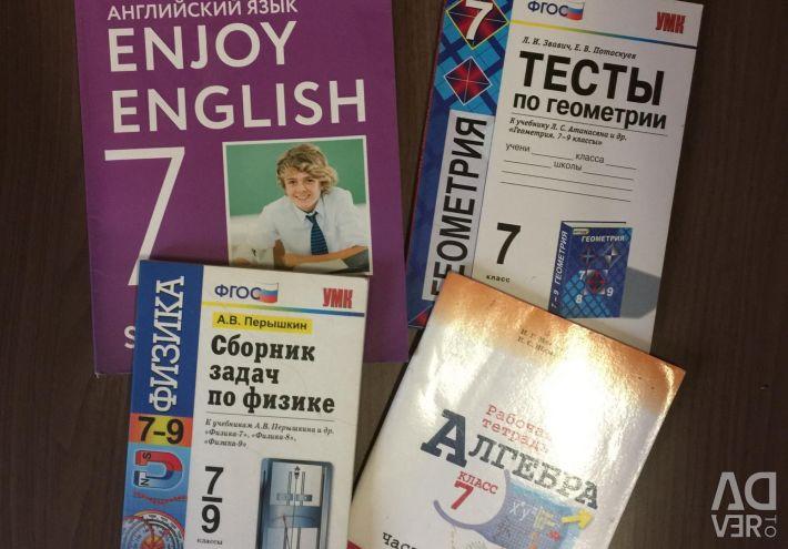 Books for grade 7.