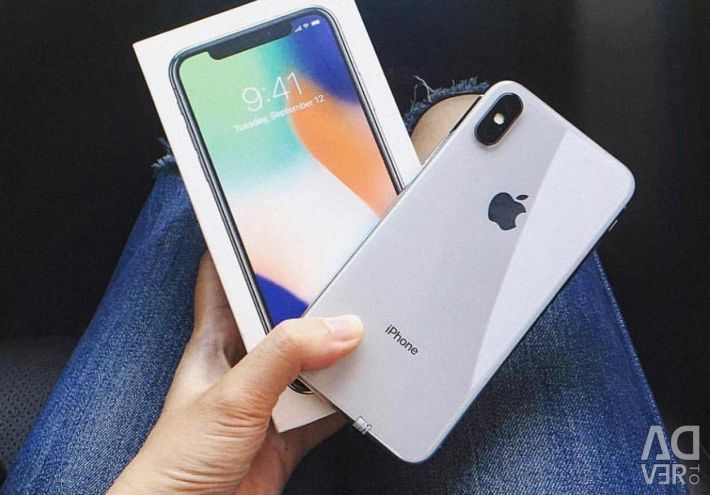 New iPhone X (256gb), white ?