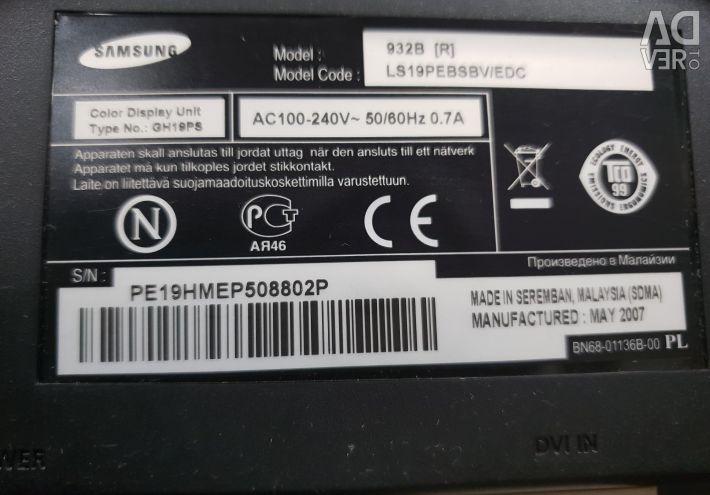Monitorul Samsung SyncMaster 932B