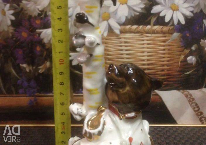 Статуэтка Медведь на воеводстве, лзфи.