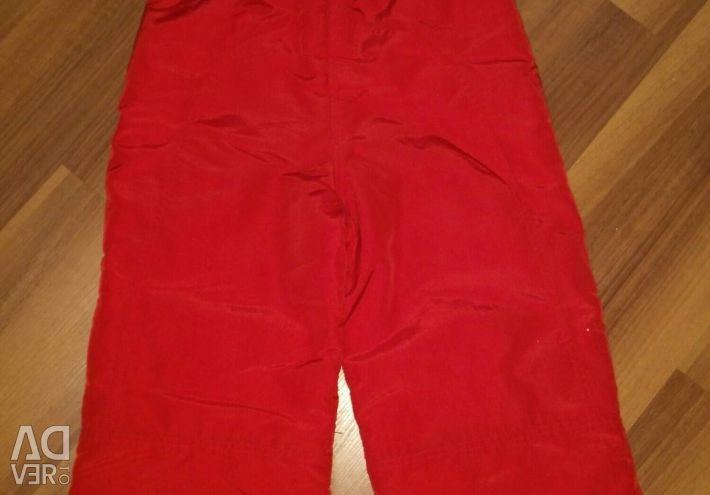 Polukombenizon pants for girls
