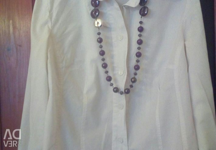 Blouse, cotton, size 50