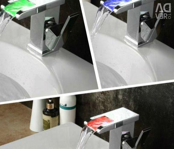 Faucet faucet 3 colors waterfall bath kitchenb1