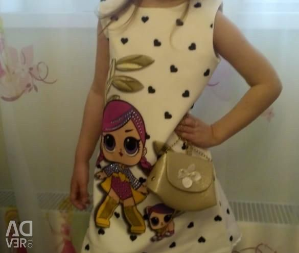 Lol dress with a handbag