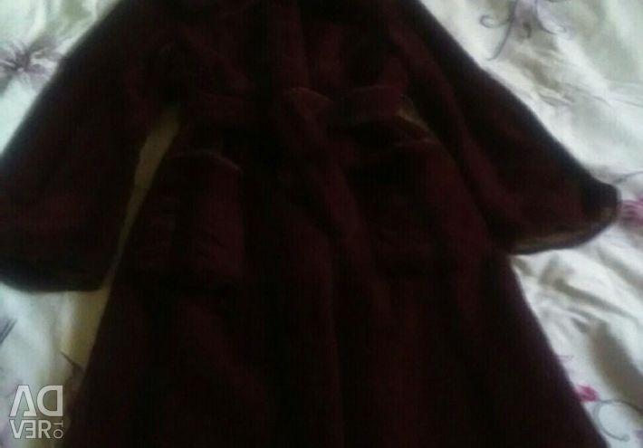 Шуба,меховое пальто р.44