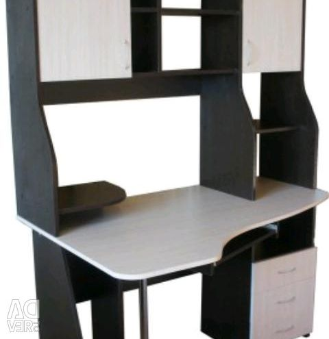 New table computer Corner school wenge