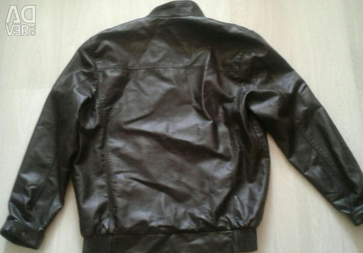 New Men's Leather Jacket