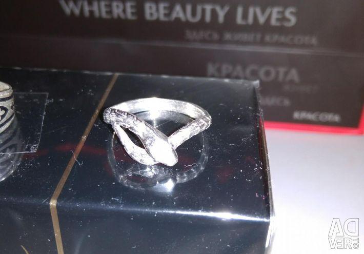 Ring Snake Silver