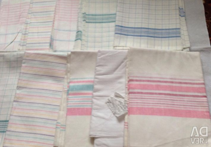 New linen and color sheets.