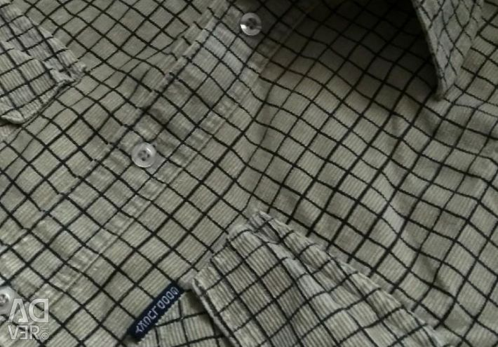 Cotton shirt velor 48