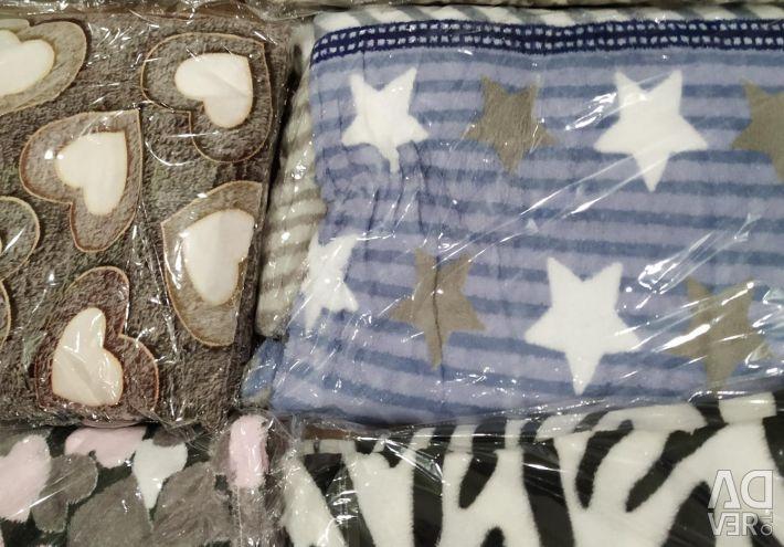 Ρούχα και μπαμπού κουβέρτα