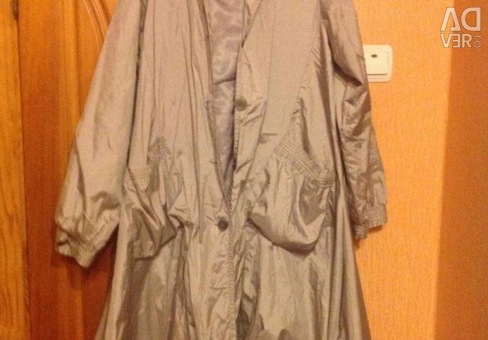 New raincoat ? thin spring autumn 58-62