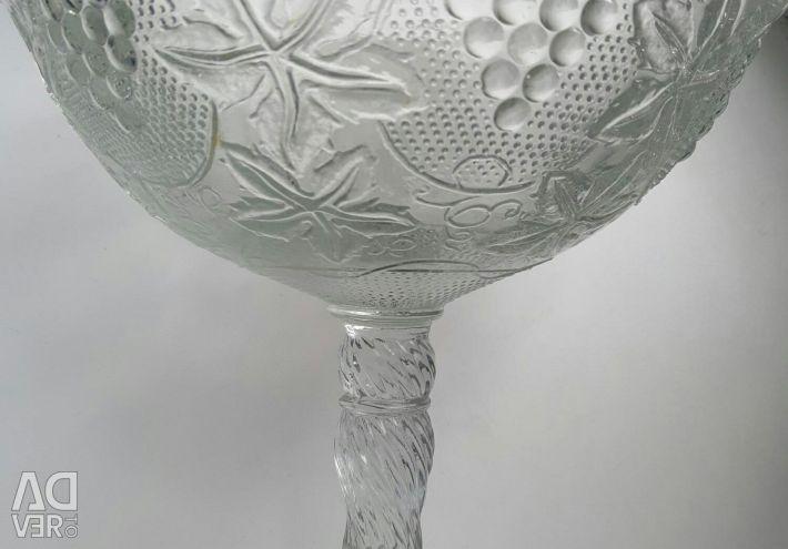 Vase for fruits and salad bowls