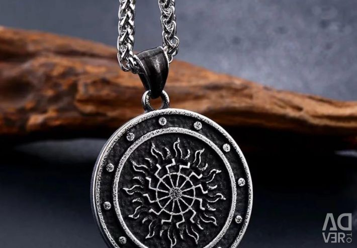 Chain with pendant steel 316 L
