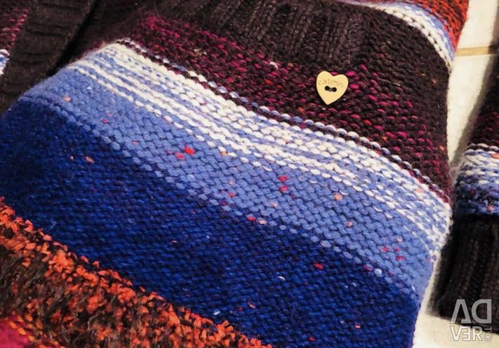 Knitted coat catimini