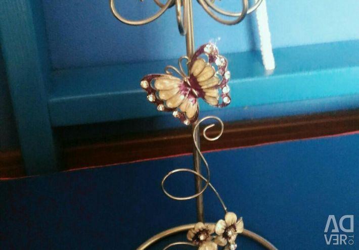 Подставка для колец, цепочек и браслетов