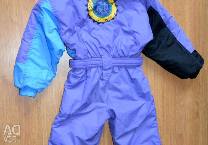 Комбинезон детский зимний, 128 см