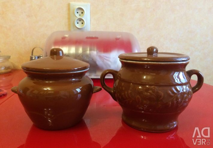 Pots for baking