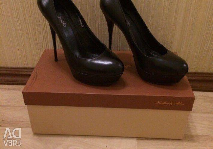 Туфлі жіночі натуральна шкіра