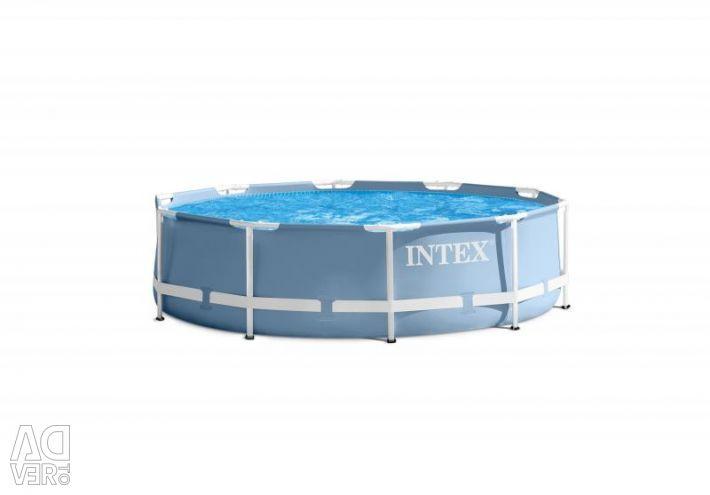 Πισίνα πλαισίου 305x76 cm, πρωτότυπο Intex 28700