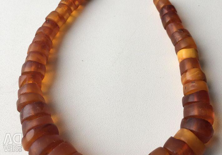 Χάντρες Vintage Amber