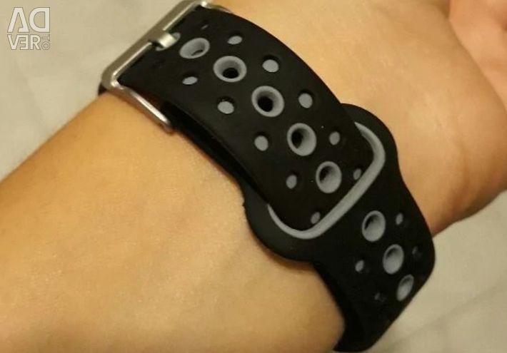 🔥 Розумні Годинники Браслет Q6S Gray IP68 3D Нові
