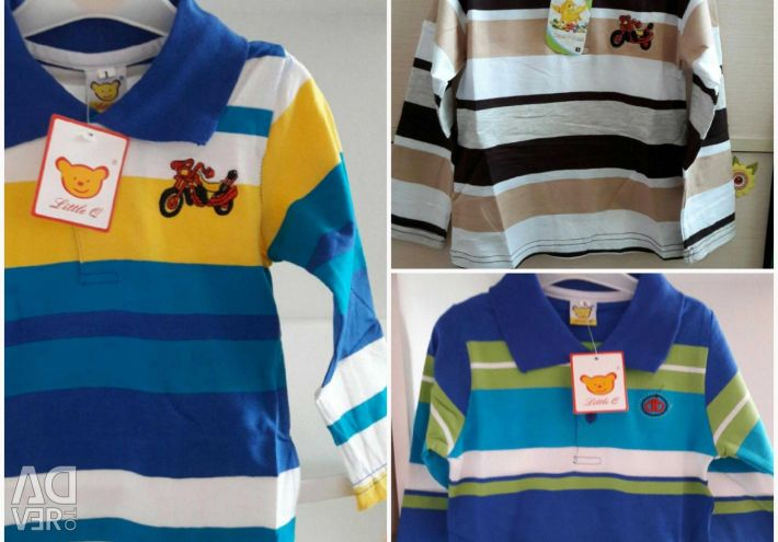 Polo shirts for children